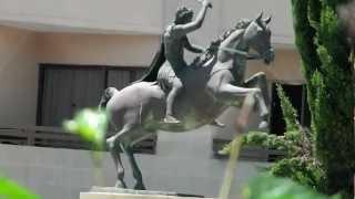 Alexander The Great Hotel Statue Along Posidonos Avenue. Paphos. Pafos.