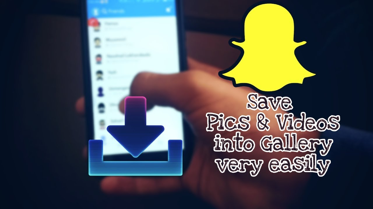 Download Snapchat stories(Snap) and videos into gallery without