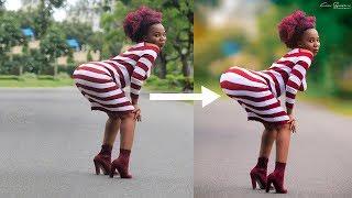 TUTORIAL: Jinsi ya kuongeza Shape (Matako Hips n.k) Kwenye Photoshop