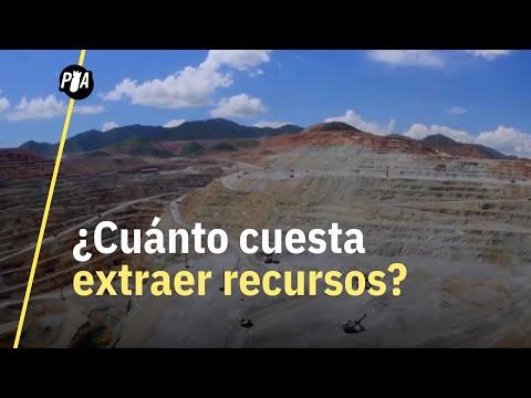 ¿Cuánto cuesta extraer recursos en México?