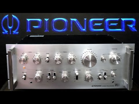 SPEC-1 - Pioneer Preamplifier One Of The Best Old Vintage Stereo Preamps. Repair Restoration Testing
