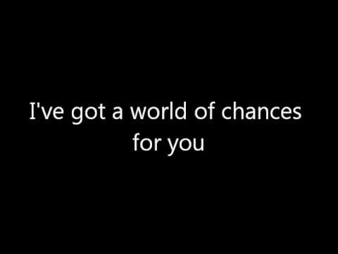 Demi Lovato - World Of Chances Lyrics