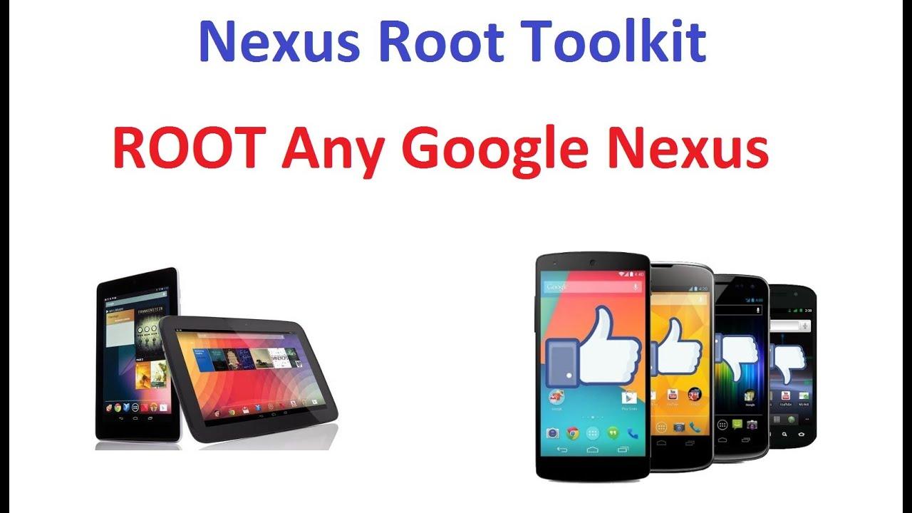 ROOT ANY Google Nexus Phone Or Tablet - EASY METHOD