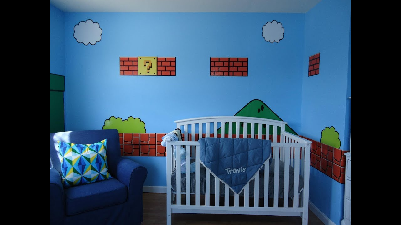 Super Mario Bros. Bedroom   By 401 Graphics   YouTube