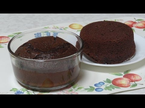 Quick Microwave Cake Video Recipe For Bachelors By Bhavna