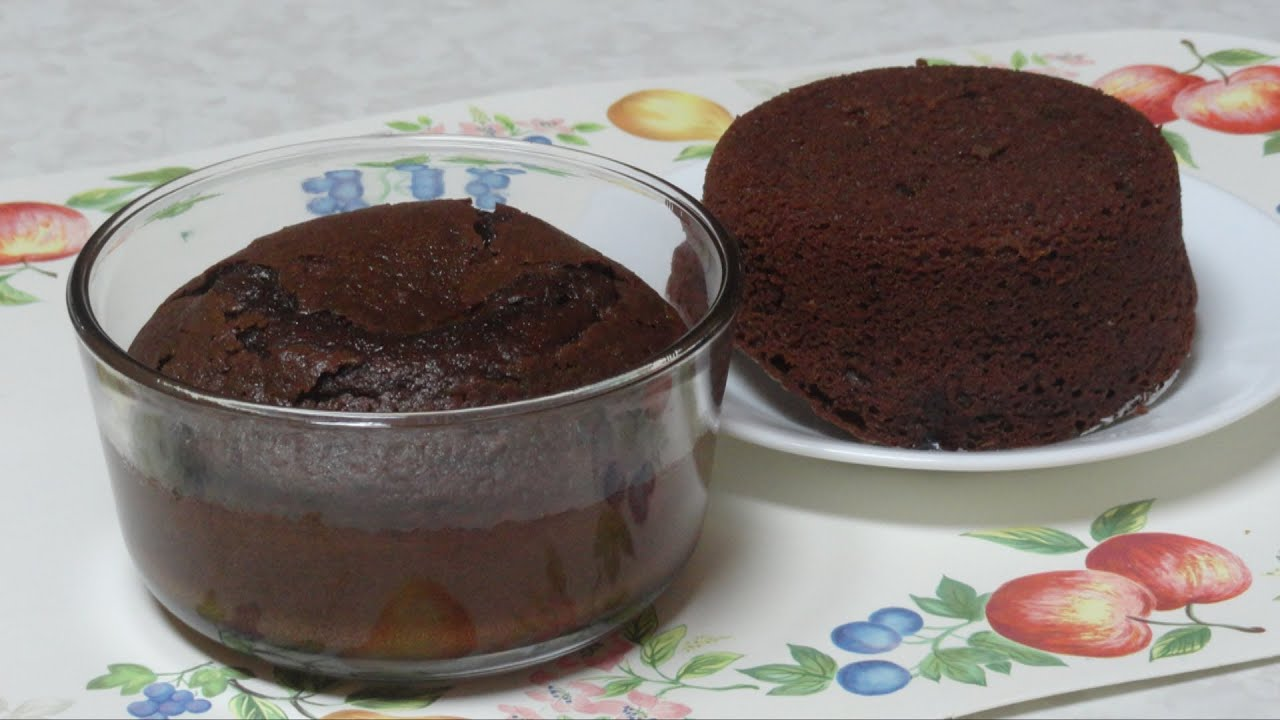 Quick Microwave Chocolate Cake