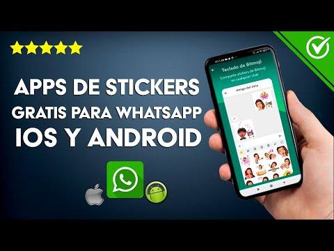 Apps para Descargar Stickers Gratis para WhatsApp en iOS, iPhone y Android