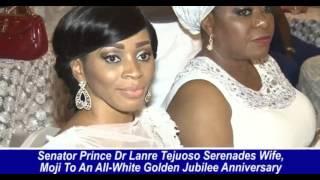 SENATOR PRINCE DR LANRE TEJUOSO CELEBRATES WIFE AT 50