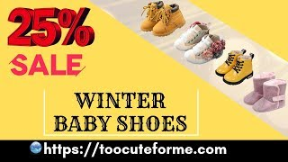 Baby shopping haul – 25% sale on winter baby shoes 👶OMG