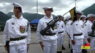 JN QUILLET 2012 07 01 - Cérémonie de départ du 7ème BCA de Bourg Saint Maurice pour Varces.