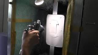 Напыление тестовой выкраски на подборе автоэмалей(Опытная колористка делает тестовый напыл в лаборатория цвето Автоэмали СПЕКТР в Воронеже краскопультом..., 2014-09-24T11:54:30.000Z)