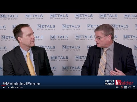 """What led to the spotting of hole 421?"" John Kaiser and Steve Robertson of Sun Metals Corp."