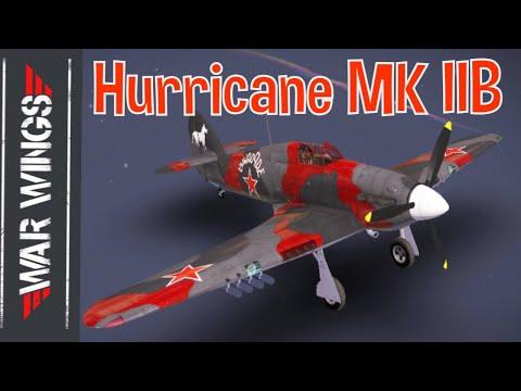 Hurricane MK IIB Premium War Wings Gameplay