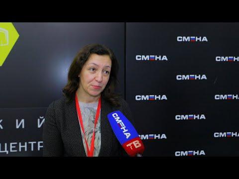 Интервью с проректором МАСПО, доктором философии Мариной Вечер в ВДЦ «Смена»