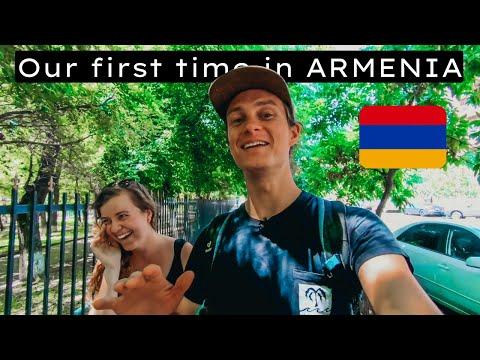 YEREVAN, ARMENIA 🇦🇲   Our FIRST IMPRESSIONS Exploring Armenia's Capital