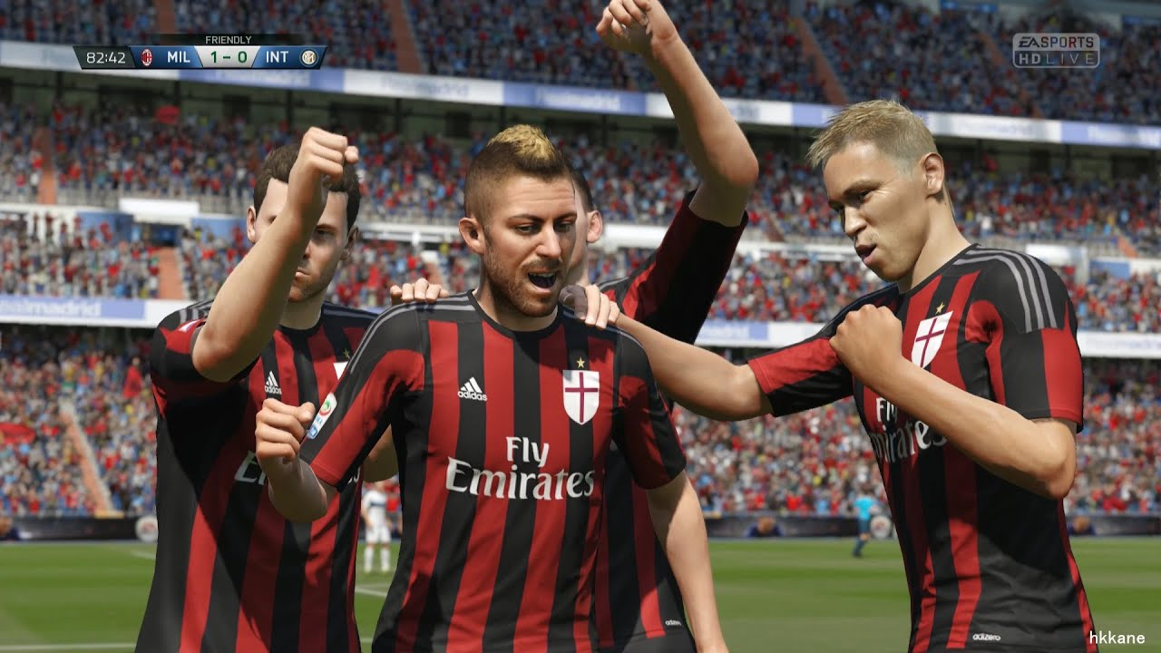 Fifa 16 pc demo ac milan vs inter milan gameplay youtube for Fifa 17 milan