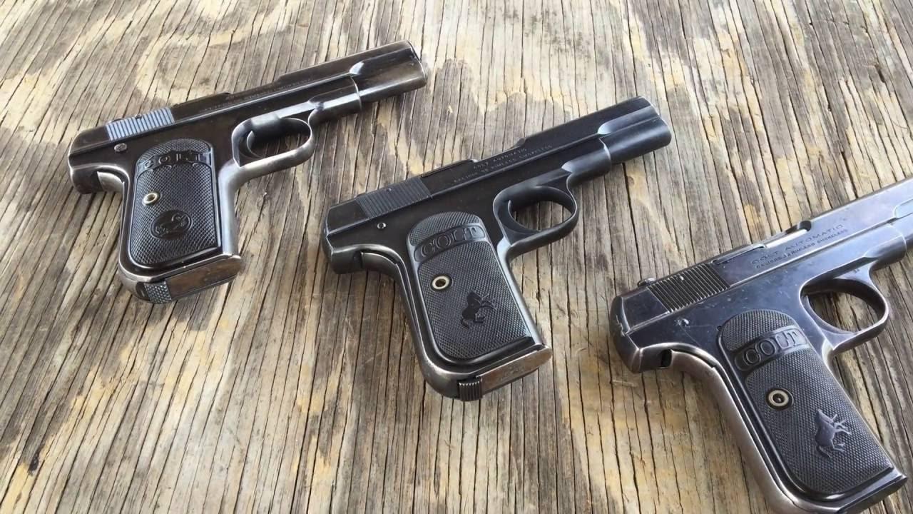 Shooting the Colt Model 1903 Hammerless