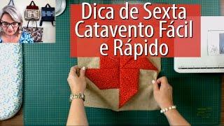 BLOCO CATAVENTO FÁCIL E RÁPIDO