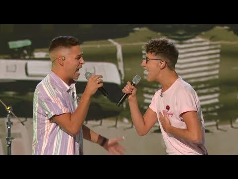 Jack & Joel Take Us To Camila Cabello´s Havana - Live Shows Week 2 | The X Factor UK 2017