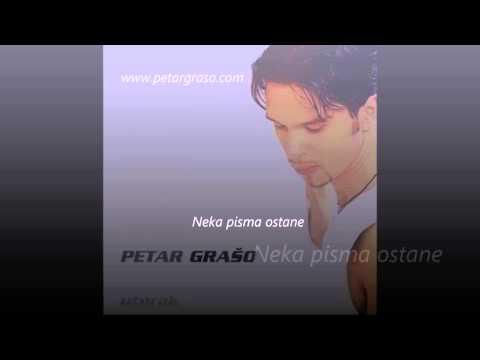 Petar Grašo - Nek pisma ostane