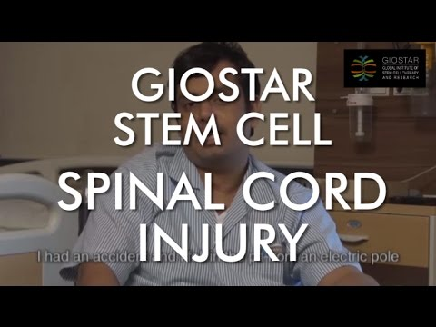 Spinal Cord Stem Cell Therapy at Giostar - Patient Testimonial