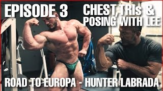 Tricep Workout - Posing with Lee Labrada - Episode 3: 10 Weeks to Contest - Hunter Labrada