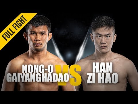 Nong-O Gaiyanghadao vs. Han Zi Hao | New World Champion | February 2019