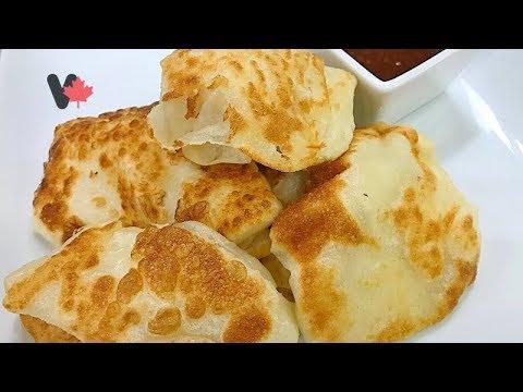 How to Make Malaysian Bread – Roti Canai – Cách Làm Bánh Mì Mã Lai