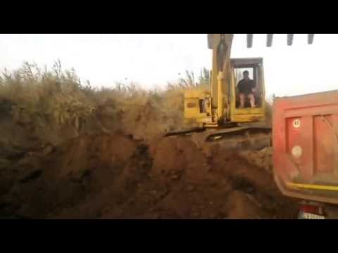 escavatore Fiat allis FE20 HD