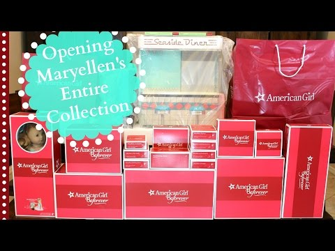American Girl Doll Maryellen's Entire Collection Review