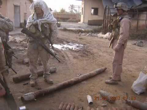 Iraq 06-07 Bravo Company 6th ESB Fallujah Moto Video!