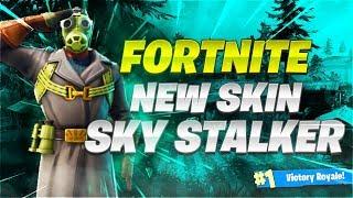 !!! de peau sky Stalker - Gameplay DeNite Battle Royale