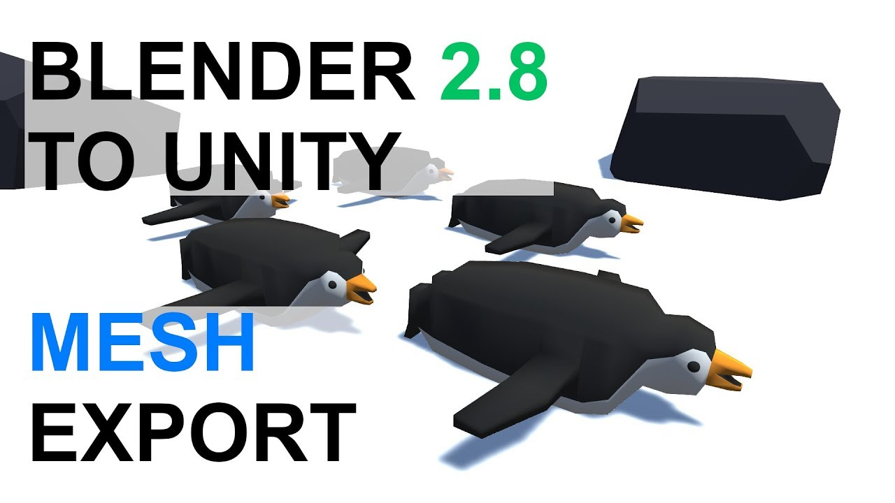 Blender 2 8 to Unity Export - Correct Scale/Rotation — Immersive Limit