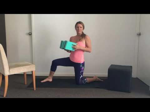 Home Made Yoga Block