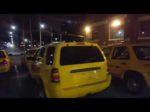 NYC Yellow Cabs In TO For Movie Shoot