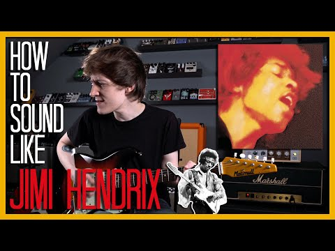 How To Sound Like JIMI HENDRIX - Crosstown Traffic W/Pedals And Effects
