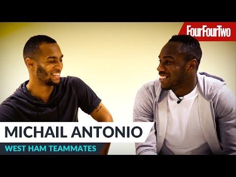 "Michail Antonio | ""Mark Noble is ruthless!"" | West Ham United teammates"