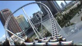 Hollywood Dream Roller Coaster POV Onride Universal Studios Japan Osaka