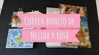 Correo bonito Navideño de Nelida y Rosa
