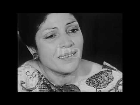 Taos Amrouche - Interview chez elle (1972)