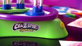 The NEW Cra-Z-Art Magic Cra-Z-Spiro Spinner