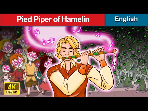 Pied Piper Of Hamelin 🤴 Bedtime stories 🌛 Fairy Tales For Teenagers | WOA Fairy Tales