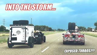 homepage tile video photo for RACE WEEK Day 5: Kansas to Colorado, Our Turbo Corvettes Take on Weather and EXTREME HEAT!!!