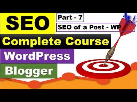 Complete SEO Course for WordPress & Blogger | Part 7 - Writing WordPress SEO Posts [Urdu/Hindi]