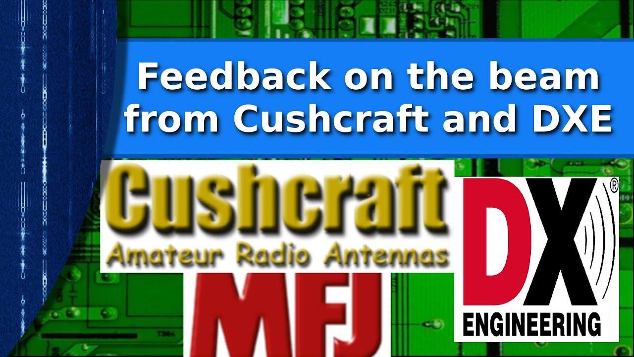 Ham Radio - Cushcraft and DX Engineering respond to the beam repair video