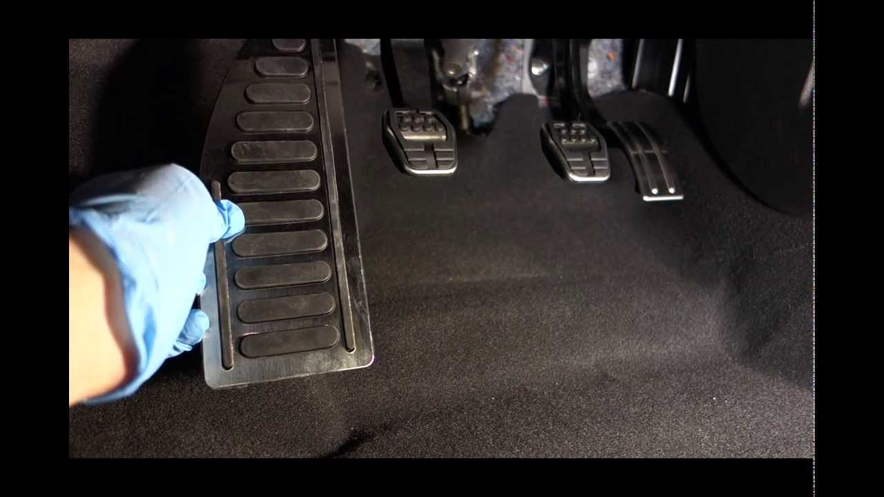 Ford Focus Aftermarket Footrest  Dead Pedal Mod  YouTube