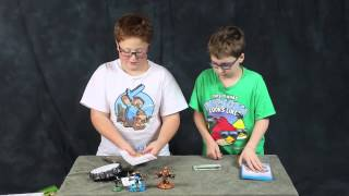 Skylanders Swap Force And Character Unboxing - Wii U - Yurthworks