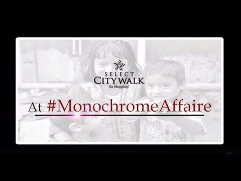 Monochrome Affaire at SelectCITYWALK!