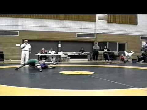 2001 Dual Meet: 70 kg Megan Buydens (UofS) vs. Antigone Oreopalos (UofA)