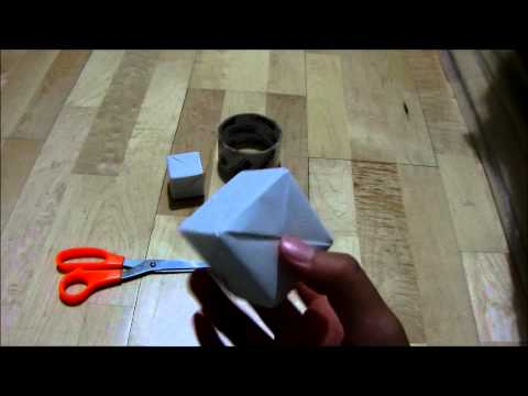 How To Fold A Paper Rubik's Cube